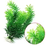 Phoenix B2C UK Artificial Fish Tank Aquarium Decoration Green Plastic Underwater Grass Plant 6