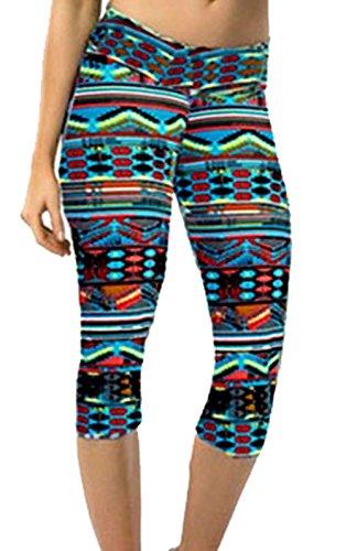 A. M. Sport - Leggings sportivi -  donna Multicolore