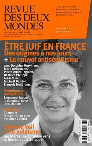 Revue des Deux Mondes dcembre 2017 janvier 2018: tre juif en France