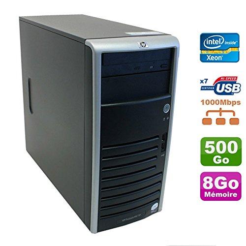 Server HP ProLiant ML110G5XEON X3330, 2,66GHz 8GB Festplatte 500GB SATA