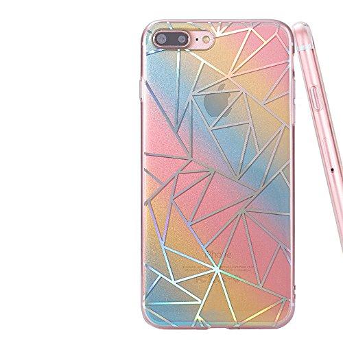 iPhone 6 6S Luxury 3D Coque Housse ,Vandot Bling Diamant Crystal Etui pour iPhone 6 6S TPU Bumper Design Soft Cover Girl Lady Etui iPhone 6 6S 4.7 Pouces Housse Case Couverture + Fashion boule de chev Modèle 02