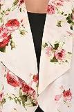 Purys Women's Polyester Floral Summer Blazer