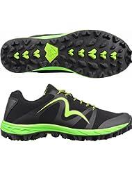 More Mile Zapatillas de Running de Malla para Hombre Negro Negro 300x420mm