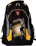 BRUBAKER Rucksack für Sport Schule Uni 19 x 30 x 45 cm, 22 Liter schwarz / gelb