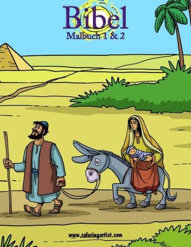 Bibel Malbuch 1 & 2