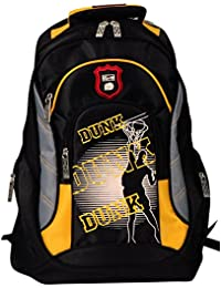 Brubaker Sac à dos loisir, noir/jaune (noir) - Rucksack_1151_SchwGlb