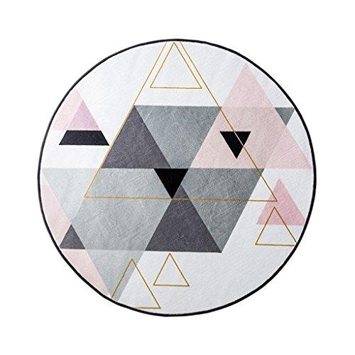 Geometrische Muster Nordic Runde Teppich Matten Home Wohnzimmer Hängenden Korb Matten Schlafzimmer...
