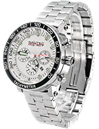 Nautec No Limit Herrenarmbanduhr Racing Chronograph RS 8850/STWH