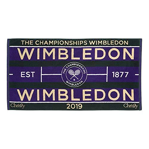 Wimbledon Men's Tennis Towel 2019 von Christy
