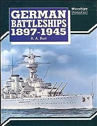 German Battleships 1897-1945 (Warships Fotofax)