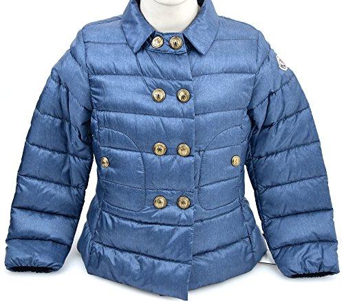 Moncler Kind MÄDCHEN Herbst GEPOLSTERTE Mantel Jacke VERSAILLE 41 952 4630005 5 ANNI - Years BLU Denim Jeans Versailles Mantel
