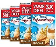 Nestlé Pyjamapapje Biscuit 6+ Maanden Babypap - 4 Doosjes Van 3 Pappen - babyvoeding