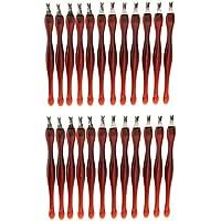 Sharplace 24tlg. Set V-Form Nagelhautmesser Hautmesser aus Edelstahl für Pediküre Maniküre, Fußpflege, Nailart preisvergleich bei billige-tabletten.eu