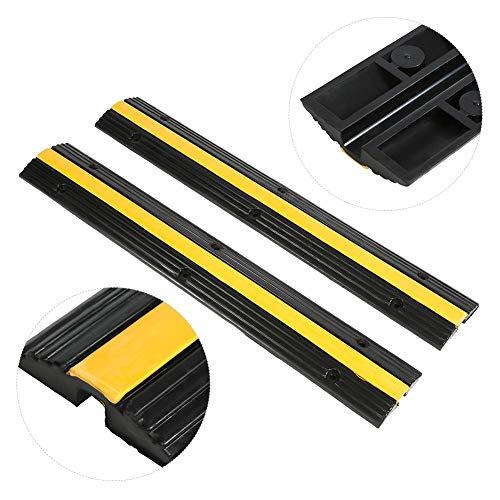 Pro-audio Equipment Kabel, Leitungen & Stecker 5 Stück 3 Kanal Kabel Brücke Protector Kanal Überfahr Schutz Rampe Cable Board Stabile Konstruktion