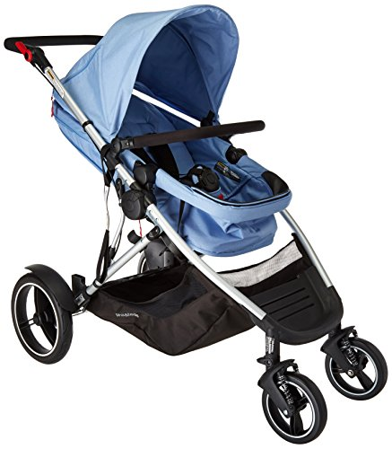 Phil & Teds Voyager Buggy blue marl 2016