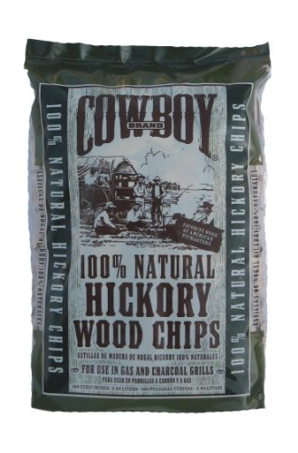 DURAFLAME COWBOY INC - Wood Chips, Hickory, 2-Lbs.