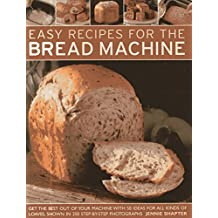 Easy Recipes for the Bread Machine by Jennie Shapter (Abridged, Audiobook, Box set) Paperback
