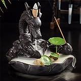 King Do Way Dragon Keramik Rückfluss Räucherstäbchen Dragon Smoke Brenner'Dragon Lotus Teich'
