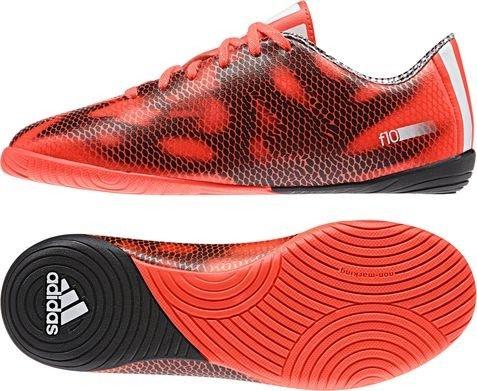 adidas F10 Jungen Futsalschuhe SOLRED/FTWWHT/CBLACK