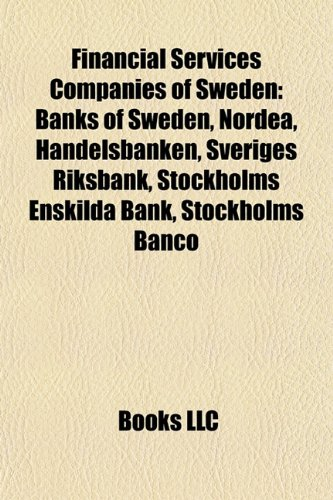 financial-services-companies-of-sweden-banks-of-sweden-nordea-handelsbanken-sveriges-riksbank-stockh