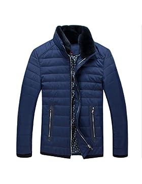 MHGAO Por la chaqueta chaqueta caliente chaquetas de invierno Nueva Ropa de Hombre , blue , m