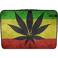 "Coperchio Neoprene Laptop Netbook PC 13.3 ""pollici - Marijuana Bandiera Canapa by WonderfulDreamPicture"
