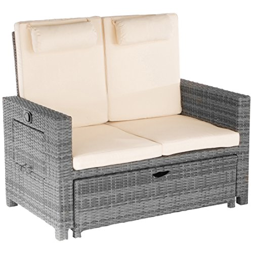 Ultranatura Poly-Rattan 2in1 Multicouch inkl. Auflagen