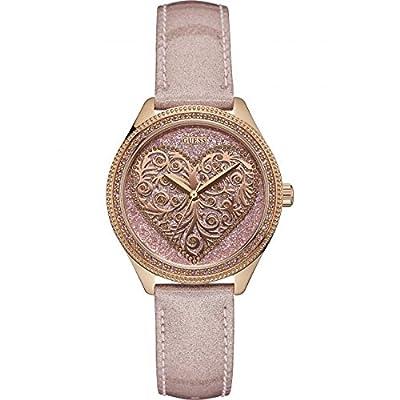 Guess W0698L2 - Reloj de pulsera para mujer, color blanco / plata