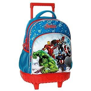51QiC%2B7w7EL. SS300  - Los Vengadores Avengers Clouds Mochila Escolar, 43 cm, 28.9 Litros, Varios colores