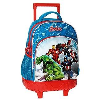 51QiC%2B7w7EL. SS324  - Los Vengadores Avengers Clouds Mochila Escolar, 43 cm, 28.9 Litros, Varios colores