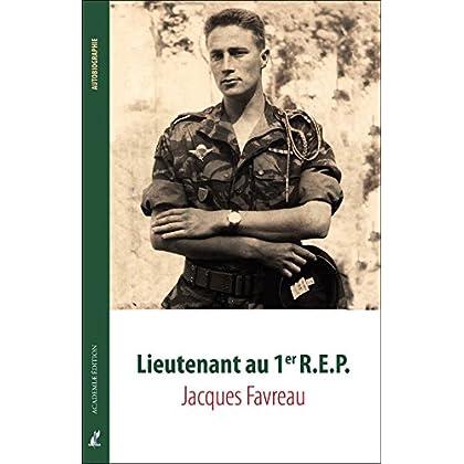 Lieutenant au 1er R.E.P.