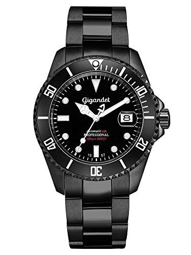 Gigandet Herren-Uhr Automatik Sea Ground Analog mit Edelstahlarmband G2-003