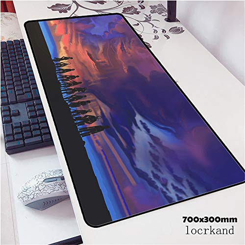 Schöne Marmormausunterlage Berufsspielspieler-Computertastatur-Mäusetabellenmatte 3 800x300x2 -