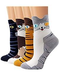 Calcetines de Algodón de Mujers - Bakicey calcetines térmicos Adulto Unisex Calcetines ...