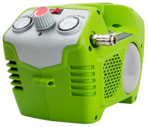 Preisvergleich Produktbild Greenworks Tools 40V Akku-Kompressor 2L, 8bar (ohne Akku und Ladegerät) - 4100802