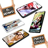 Personalisierte Premium Foto-Handyhülle für Huawei-Serie selbst gestalten mit Foto bedrucken, Hülle:Slim-Silikon / Transparent, Handymodell:Huawei Y7