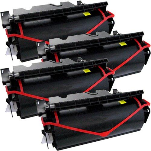Tito-Express PlatinumSerie 4X Toner XXL für Lexmark T640 Black Unisys UDS 540-N 11 UDS 544-N 11 -