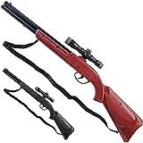 Nerd Clear Großes Westerngewehr Gewehr schwarz oder braun