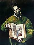 Lais Puzzle El Greco - Hl. Lukas als Maler 100 Teile