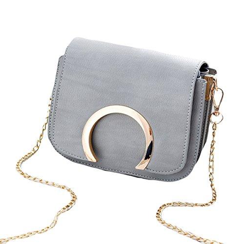KYFW Frauen Umhängetasche Mode Kette Tasche Messenger Bag Wild Damen Tasche F