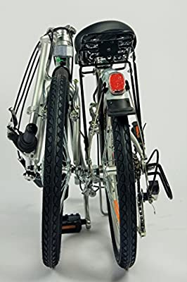 GermanXia Faltrad 20 Zoll COMFORT 6-Gang Shimano Schwarz