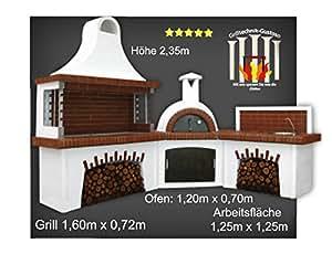 steingrill kokinos grillkamin mit backofen waschbecken garten. Black Bedroom Furniture Sets. Home Design Ideas