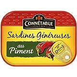 Connetable Sardines généreuses au Piment la Boîte 140g