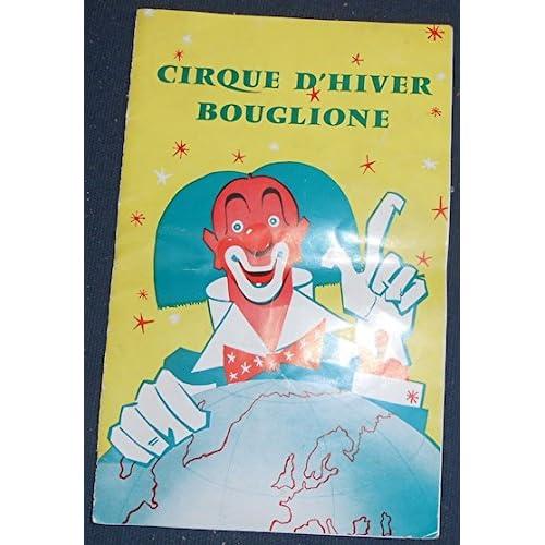 Programme Cirque d'Hiver Bouglione saison 1962-63
