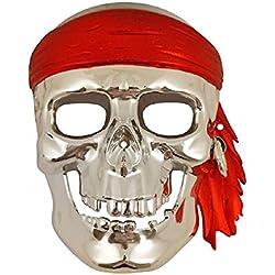 Máscara de calavera para fiesta.