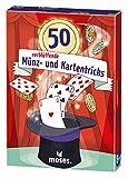 moses. 30244 50 verblüffende Münz und Kartentricks   Kinderbeschäftigung   Kartenset, bunt