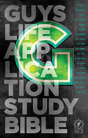Guys Life Application Study Bible: New Living