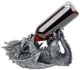 Unbekannt Nemesis Now Guzzlers Dragon Dekoartikel Schwarz/Silber