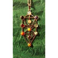 Spirituelle Kabbalah Chakra Halskette handgefertigten Gems Choices der Halskette Anhänger preisvergleich bei billige-tabletten.eu
