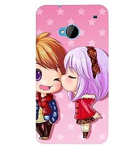 Fuson Valentine Love Case Cover for HTC ONE M7